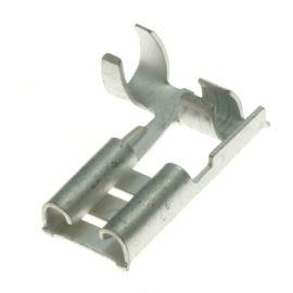 Faston na kabel krimpovací 6.3x0.8mm úhlový 90° JST LFO-2.5T-250N