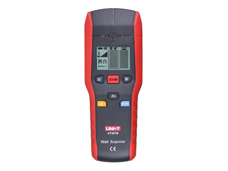 Uni Trend Detektor kovů, dřeva a elektrických vedení UNI-T UT387B