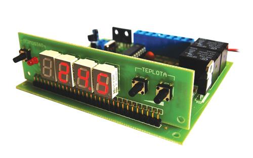 Tipa Stavebnice digitálního termostatu s čidlem DS18B20
